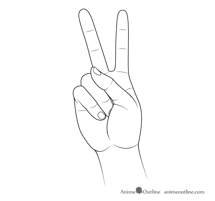 How To Draw Hand Poses Step By Step Animeoutline How To Draw Hands Hand Pose Hand Drawing Reference Hand pose hand reference drawing poses drawing people chibi sketches animation drawings anime. how to draw hand poses step by step