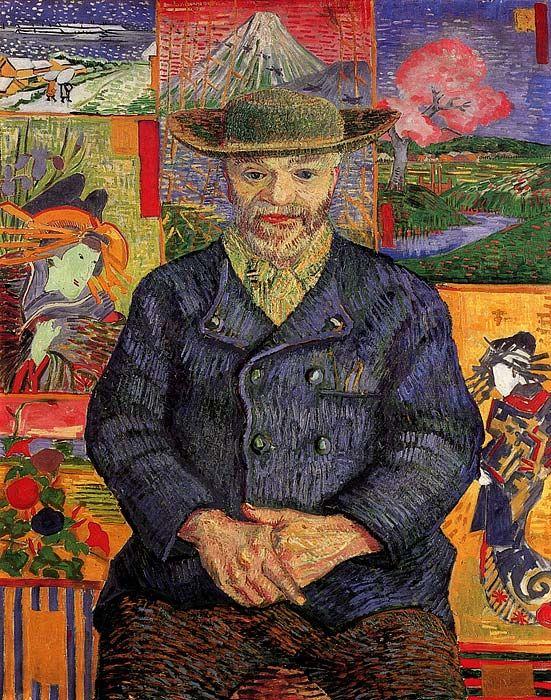 "Vincent van Gogh: ""Portrait of Pere Tanguy"""
