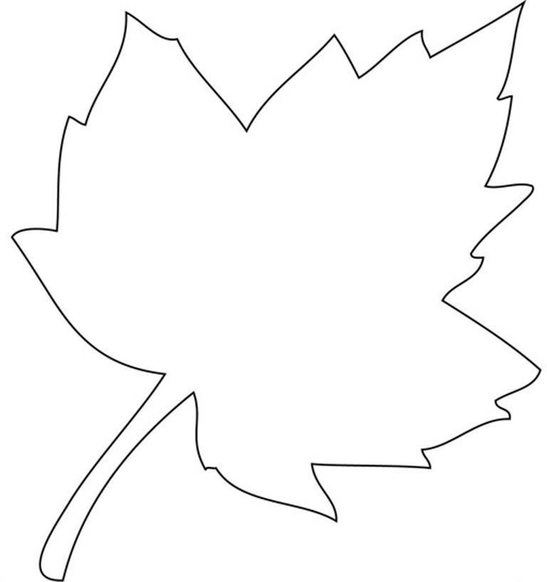 Открытка кленовый лист трафарет, няшки