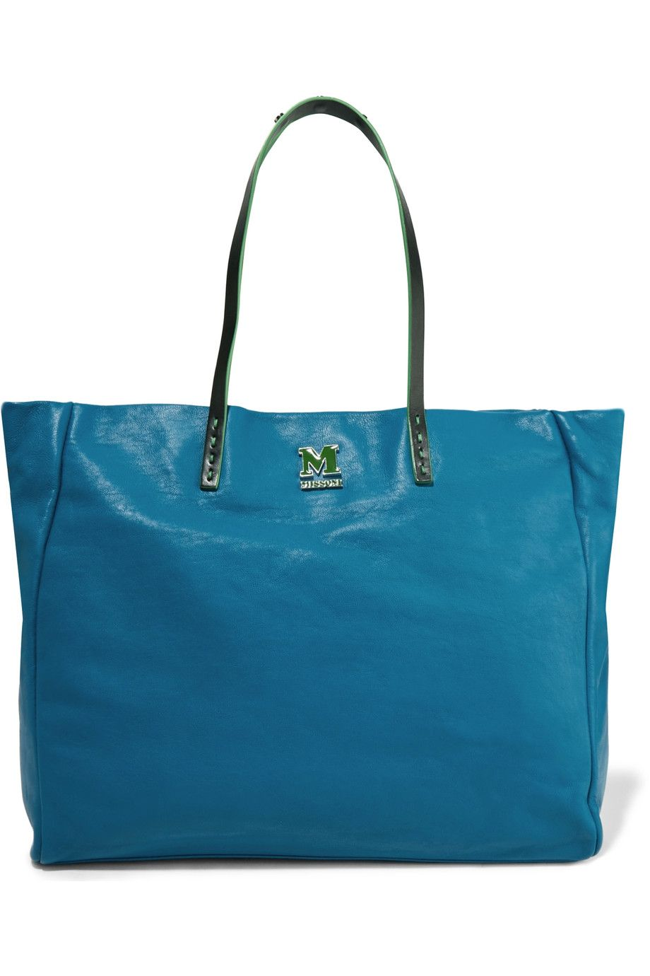 dc161f93fc M MISSONI Leather Tote.  mmissoni  bags  leather  hand bags  tote ...