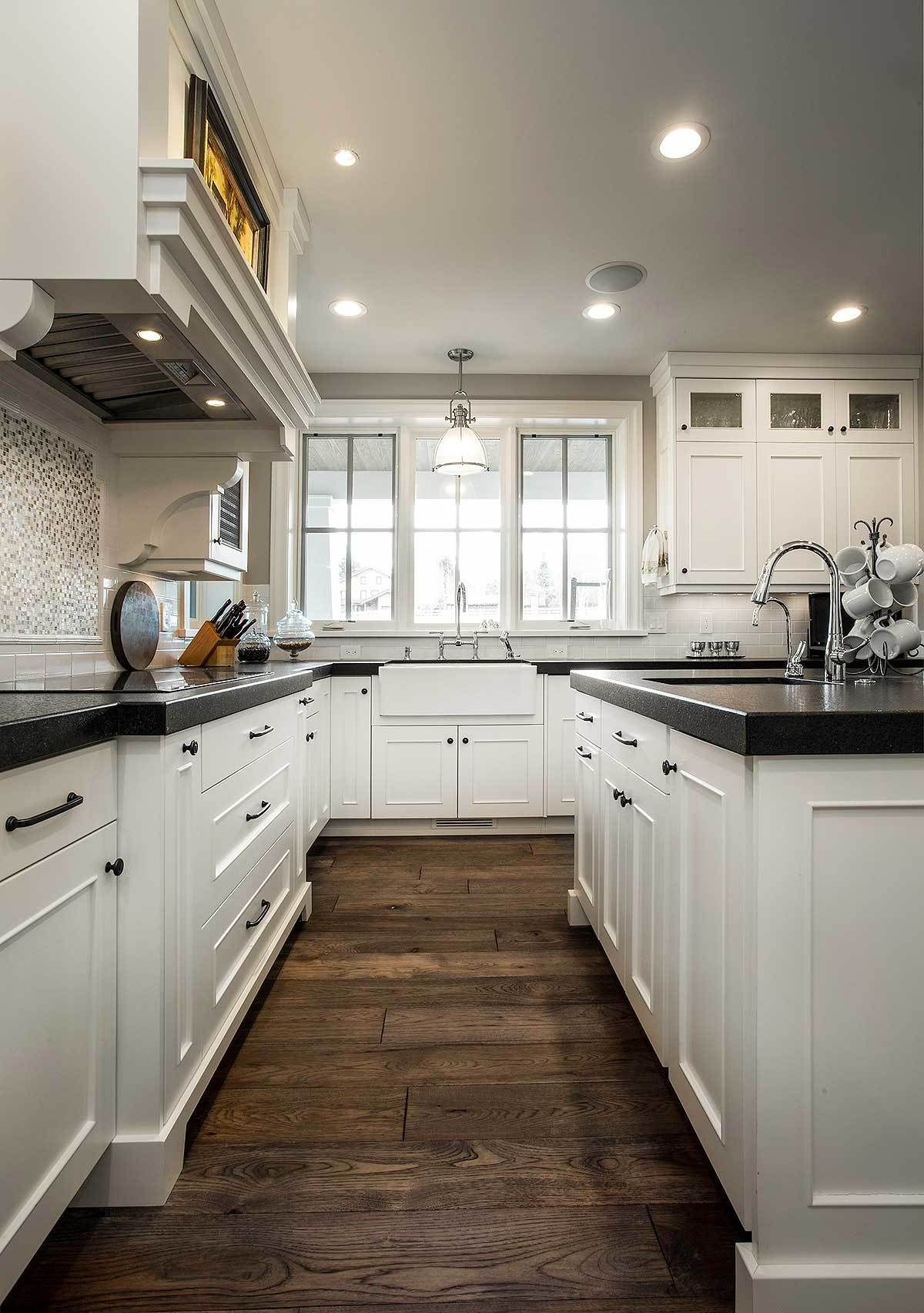 Plan 18295be Exclusive Luxury Craftsman With No Detail Spared Craftsman Style Kitchens Craftsman Home Interiors Craftsman Kitchen Cabinets