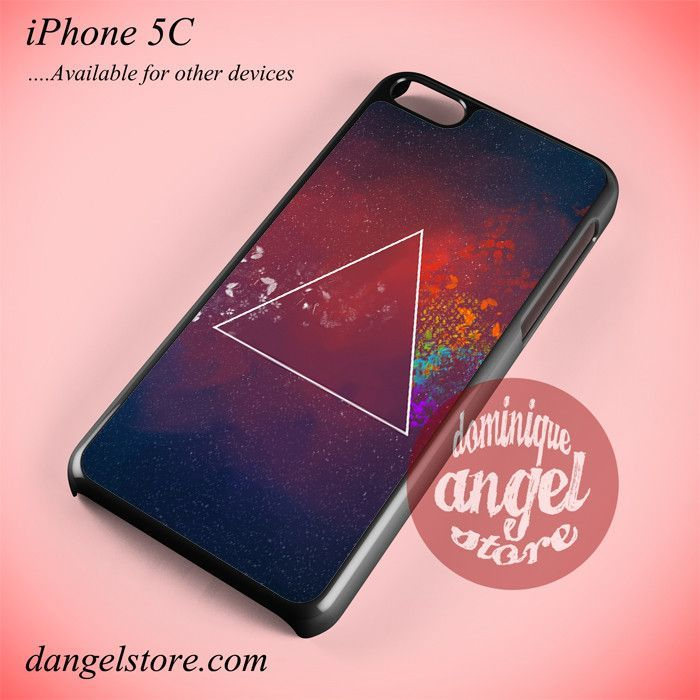 Triangle Art Phone case for iPhone 5C and another iPhone devices