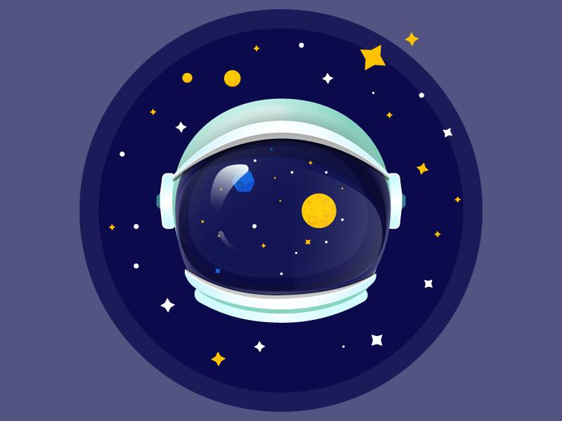 Astronaut Helmet Astronaut Illustration Astronaut Helmet Character Design Animation