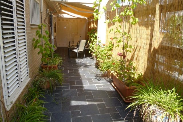 Terraza con plantas en tico de picanya a la venta - Viviendas en picanya ...