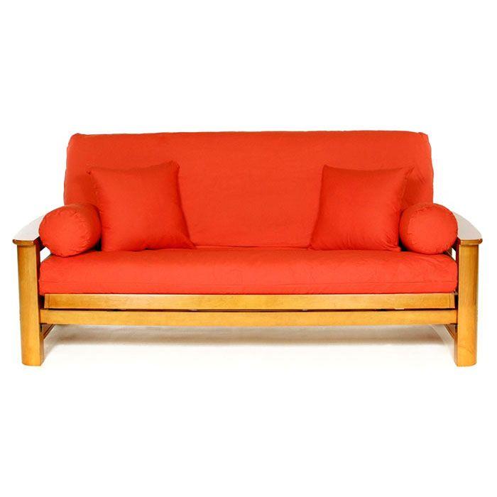 Orange Futon Cover Full Size Futon Slipcover Futon Covers Futon