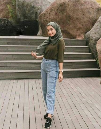 Style Hijab Untuk Orang Pendek 24 Ideas #style | Model ...