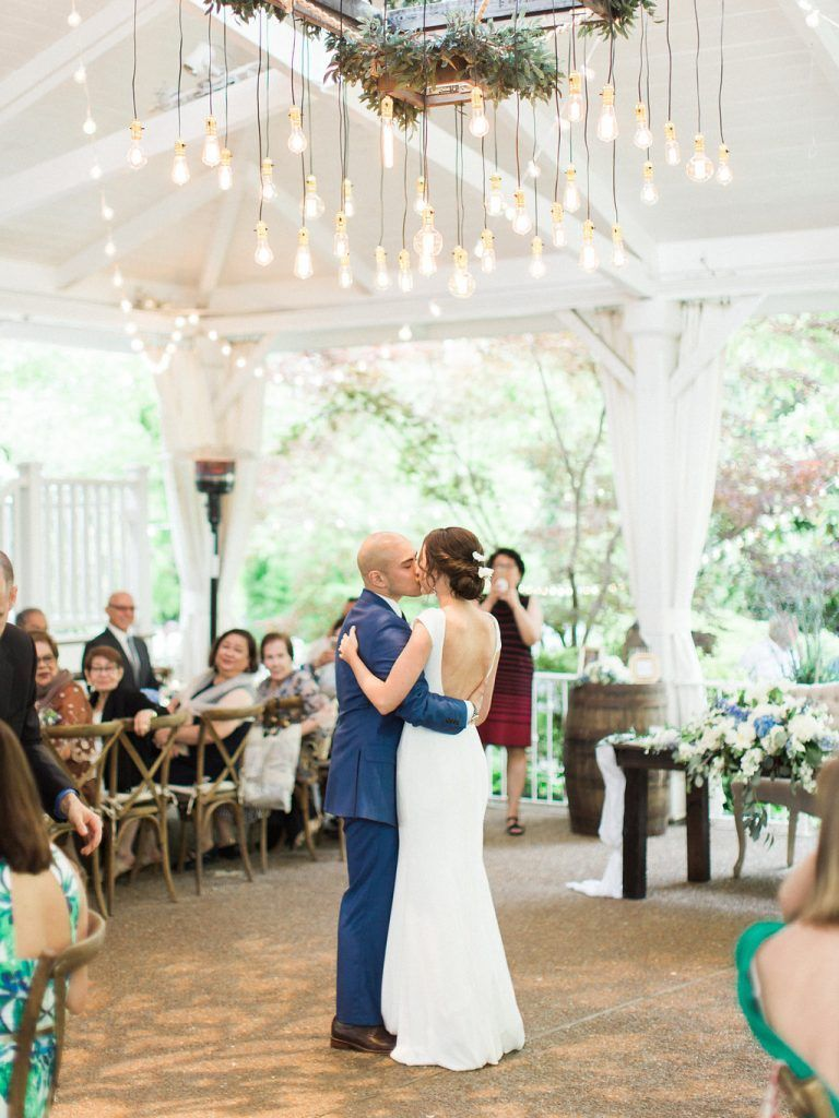 Sweetly Chic Blue Nuptials in 2020 Tennessee wedding