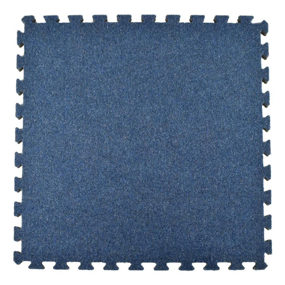 Greatmats Royal Blue Carpet Velour Plush 10 Ft X 10 Ft X 5 8 In