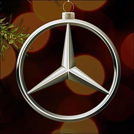 Mercedes benz christmas ornament christmas ornament for Mercedes benz ornaments