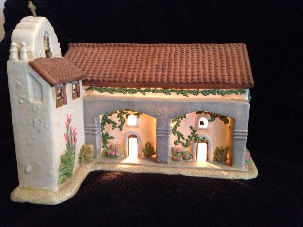 Details about Mervyn's California Mission Santa Ines ...
