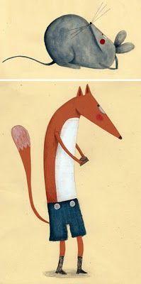 http://www.pequeniabetania.blogspot.com/2011/03/ilustrando-animales.html