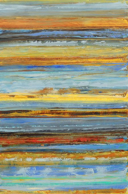 Marketa Sivek | Harmony of Ocean Rain II | oil on canvas