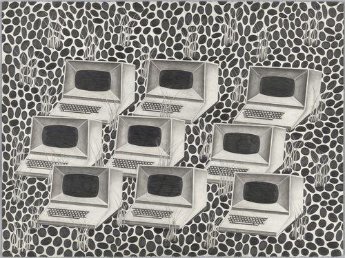 Jon Widman - Untitled (2000 - Pencil on paper)