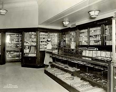 Photographs And Supplemental Materials Of The Fred Harvey Hotels Union Station Pers Mart Chicago Illinois