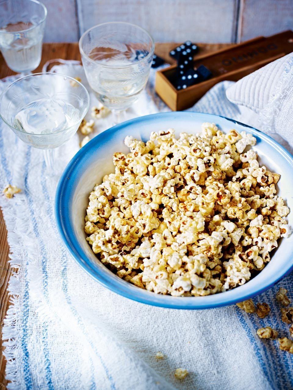 Lowsugar coconut granola Recipe Maple popcorn recipe