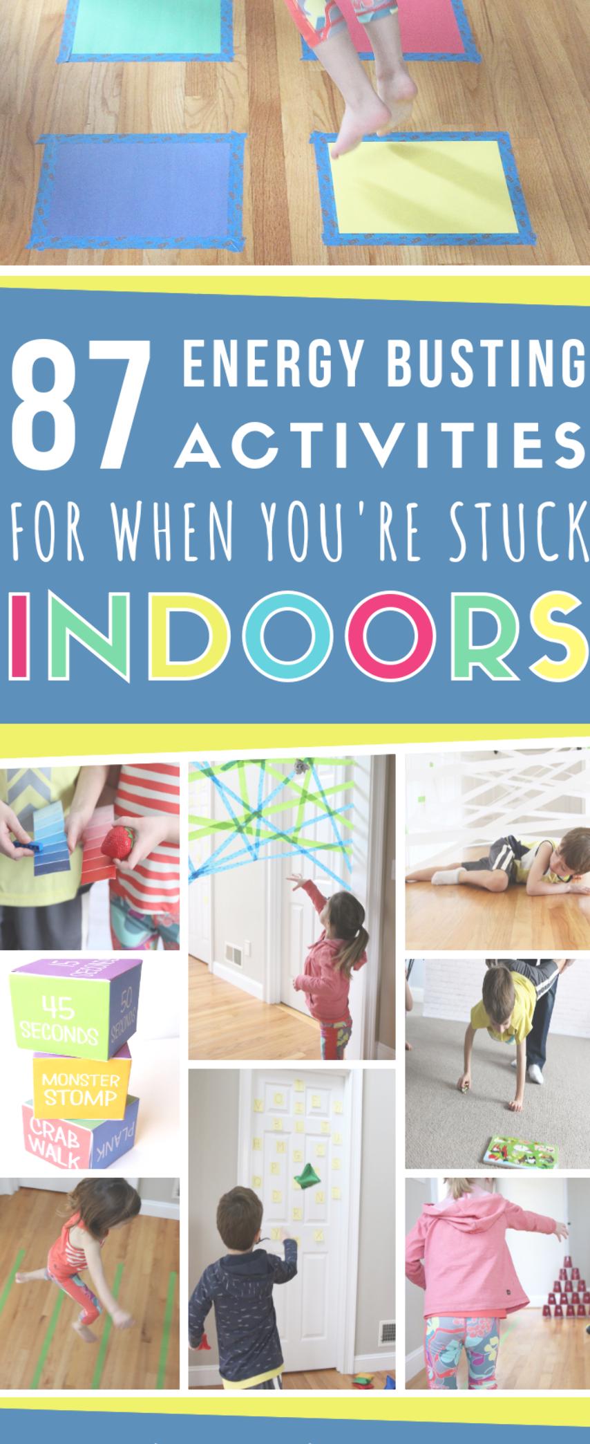Best Active Indoor Activities For Kids (With images