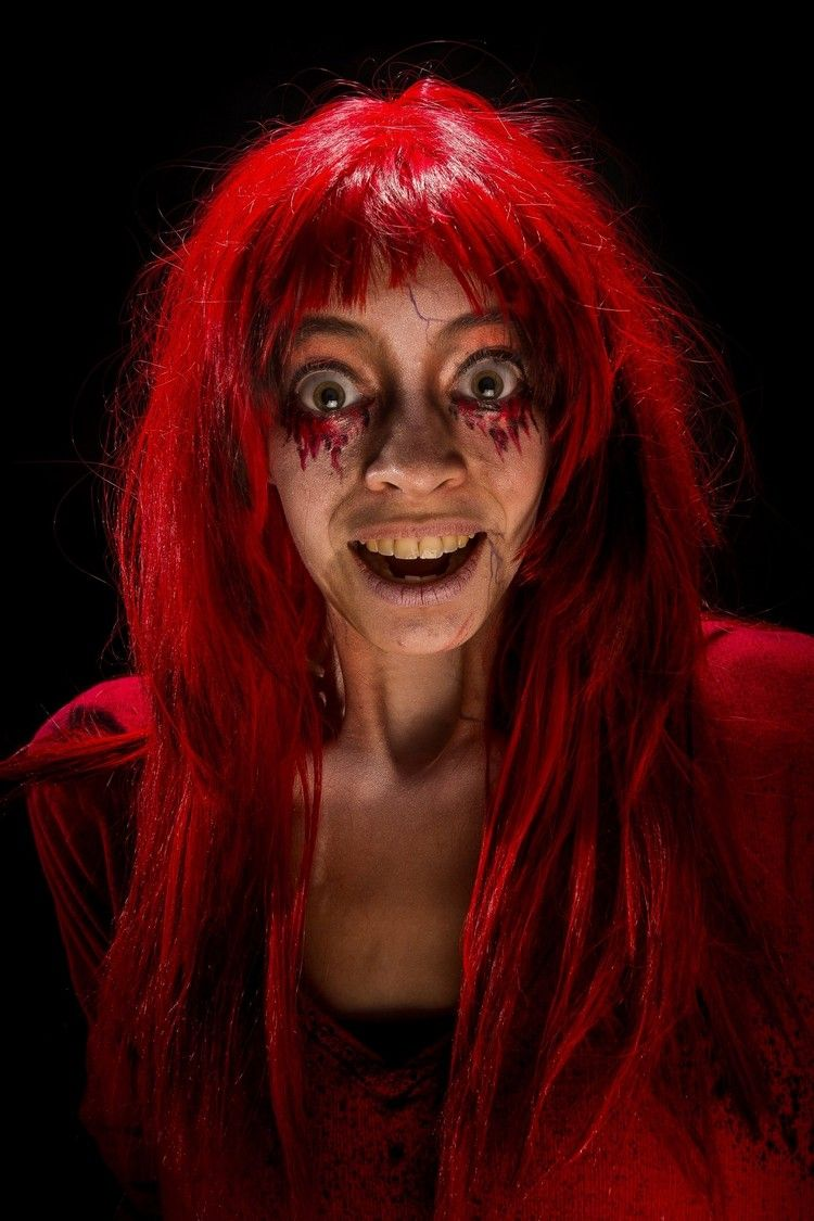 Maquillage Halloween facile quand on s'y prend à la