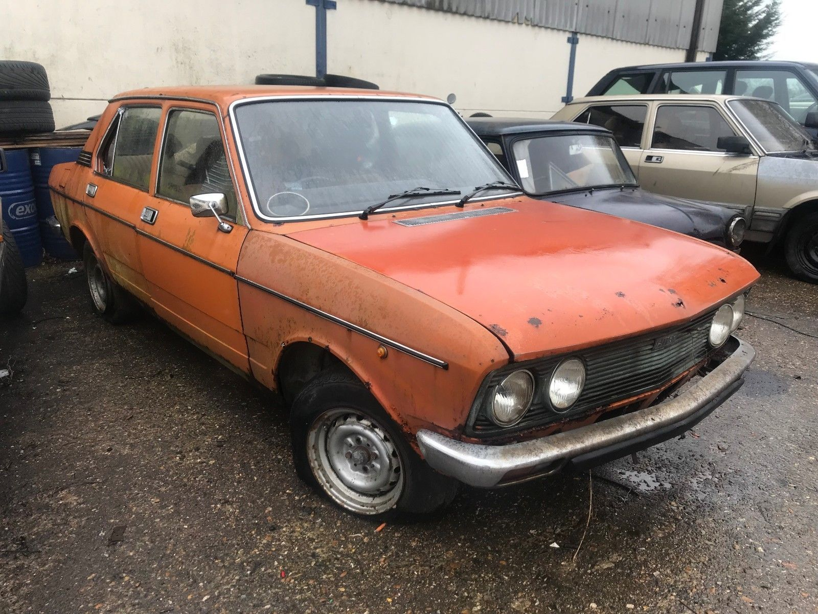 eBay: Fiat 132 Classic SPARES OR REPAIR BARN FIND #classiccars #cars ...