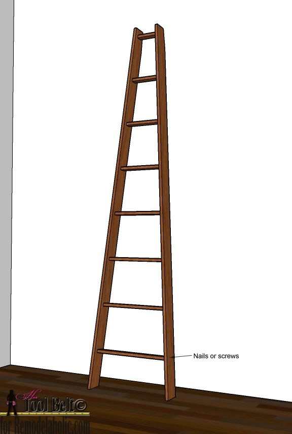 Build This Diy Decorative Orchard Ladder For 7 Plans On Remodelaholic Com Decor Building Plan Patio Decor