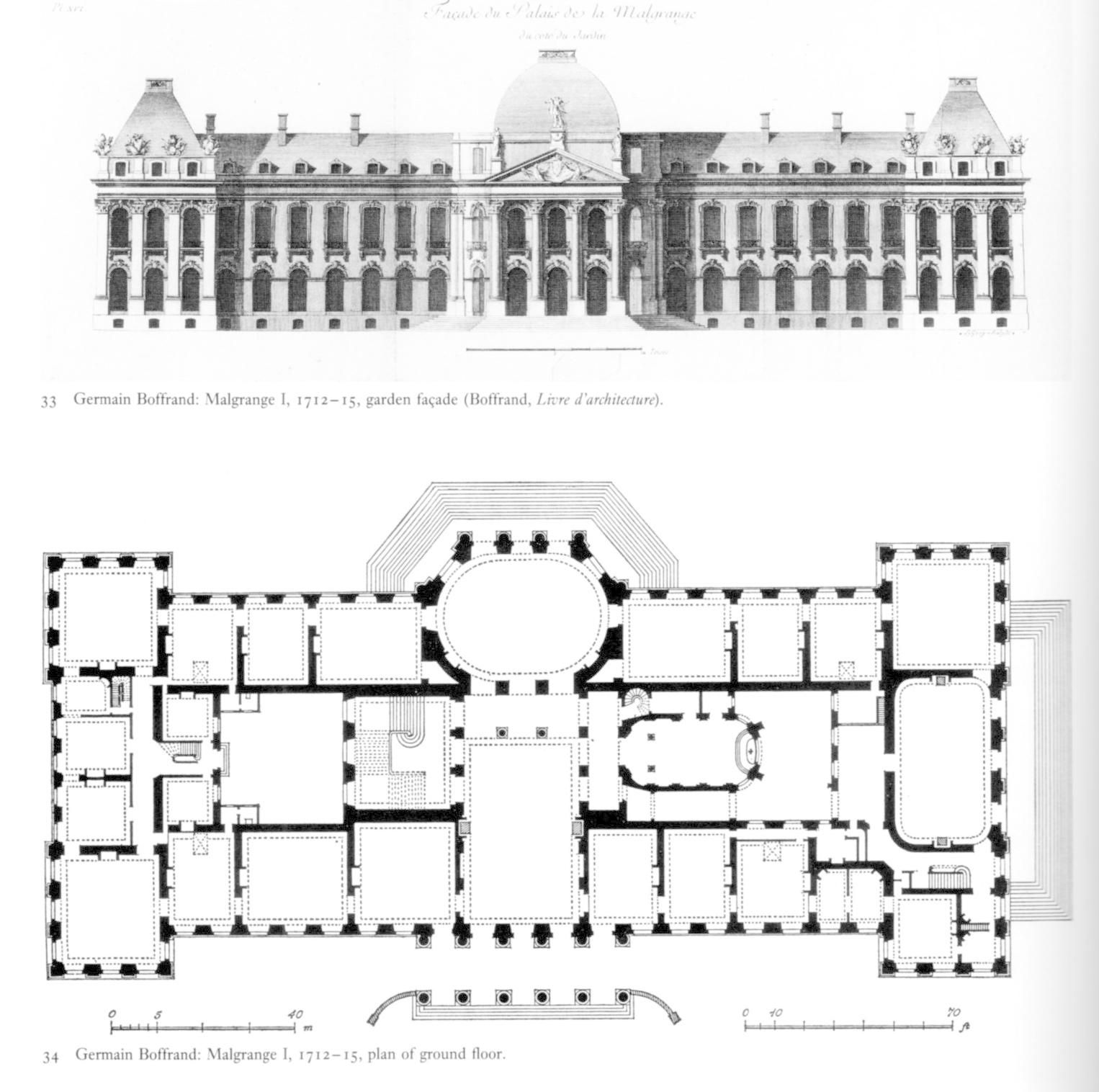 JARVILLE-LA-MALGRANGE (54) - Château (XVIIIe siècle)