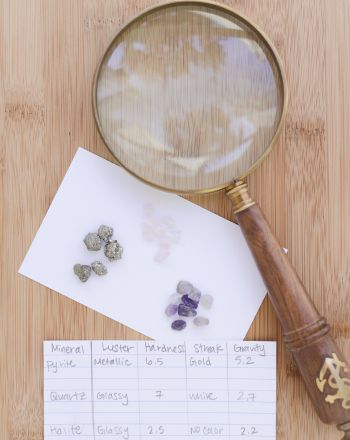 Science Fair: Identifying Rocks and Minerals for Kids