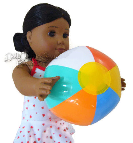 5ce7eaa85edb21  1.19 - Blow Up Beach Ball Toy 5