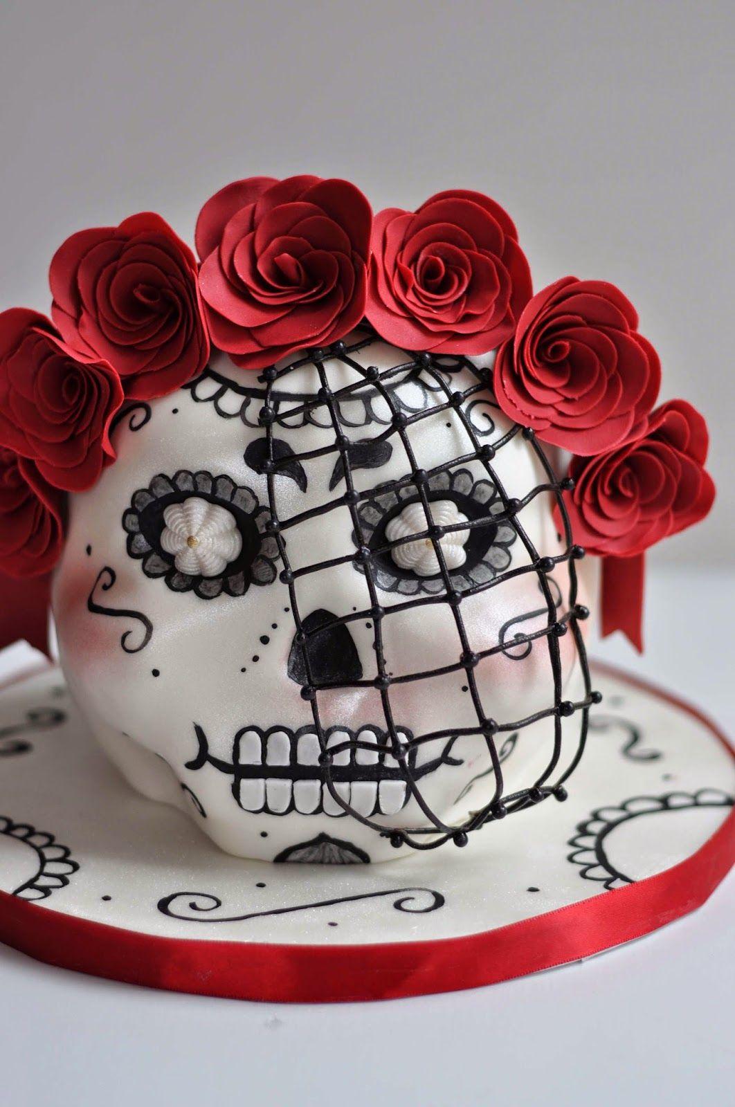 Dios de los Muertos Cake