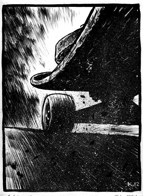 Skate by Kalle Malloy