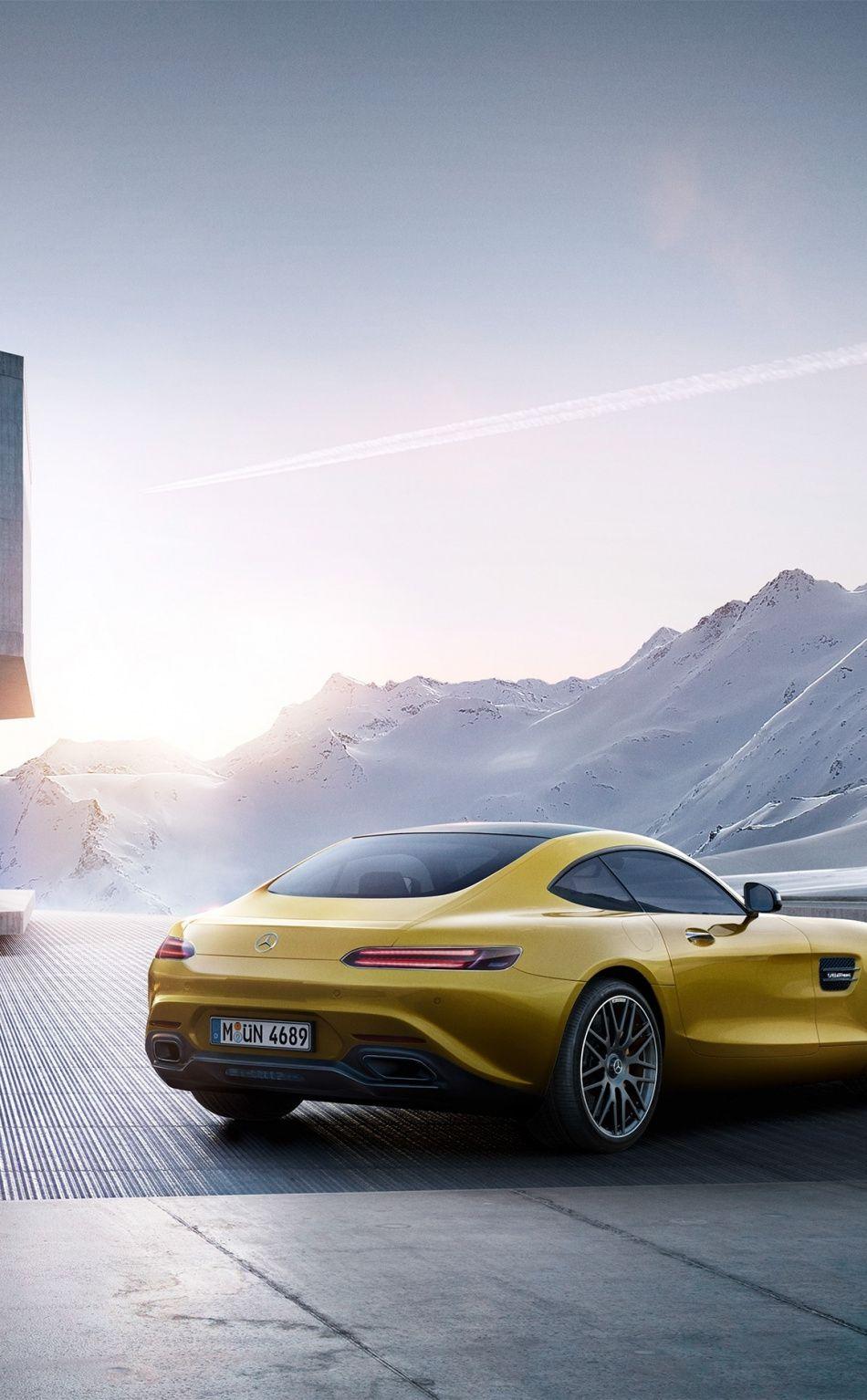950x1534 Off Road Yellow Mercedes Amg Gt Wallpaper Mercedes Amg