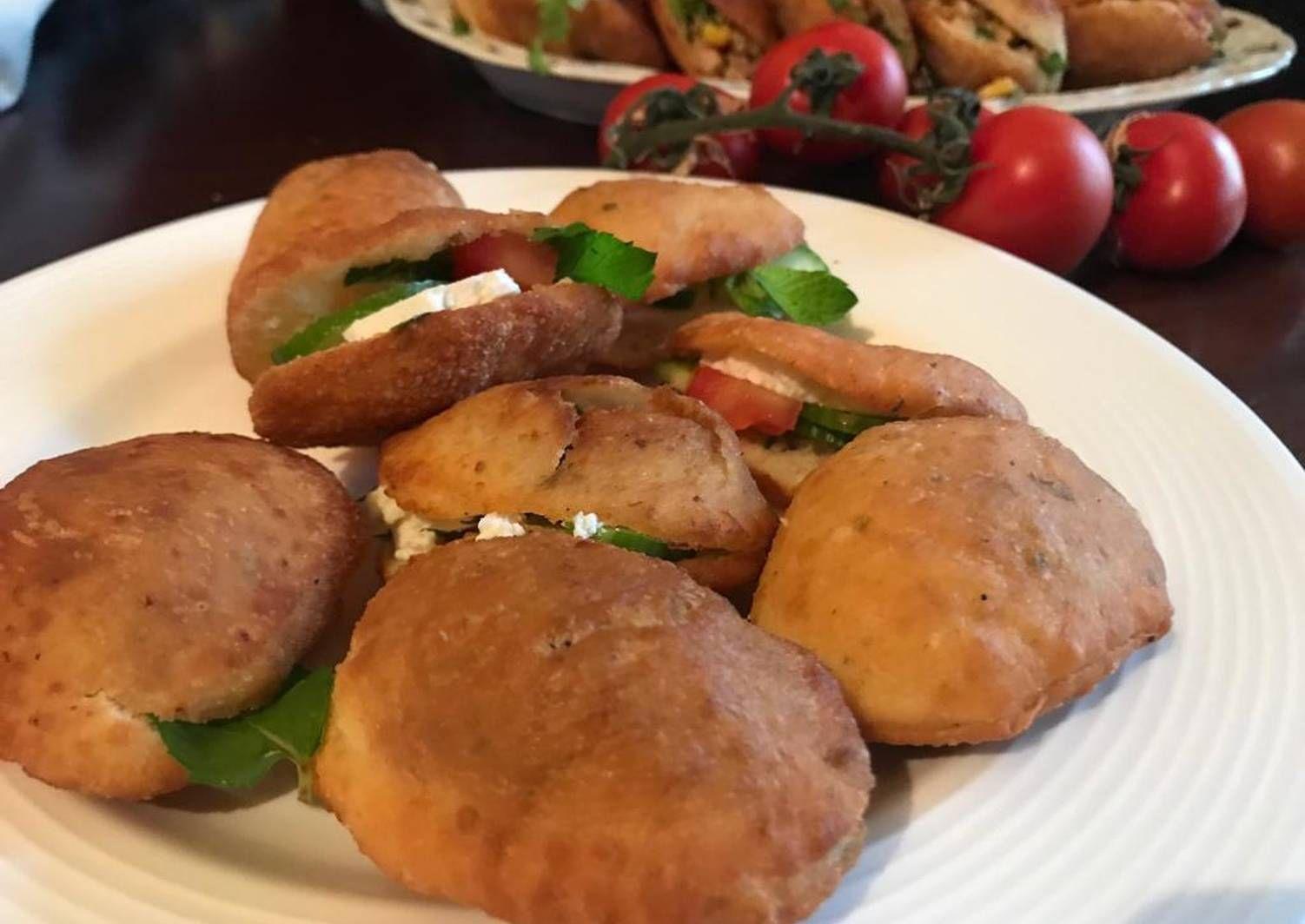 جيب التاجر بالجبنة بالصور من Hiam Saleh Recipe Food Vegetables Potatoes