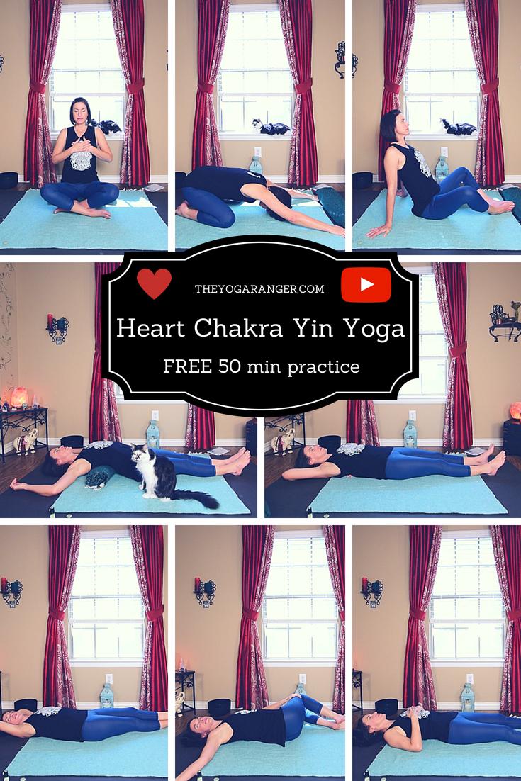 Heart Chakra Yin Yoga  Healing, Acceptance & Compassion  Yin