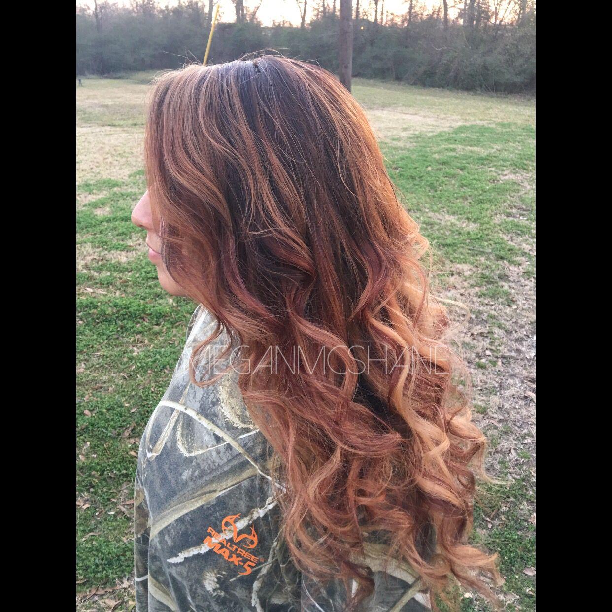 Hair By Megan Mcshane Ombre Caramel Ombre Ombre Hair Highlights