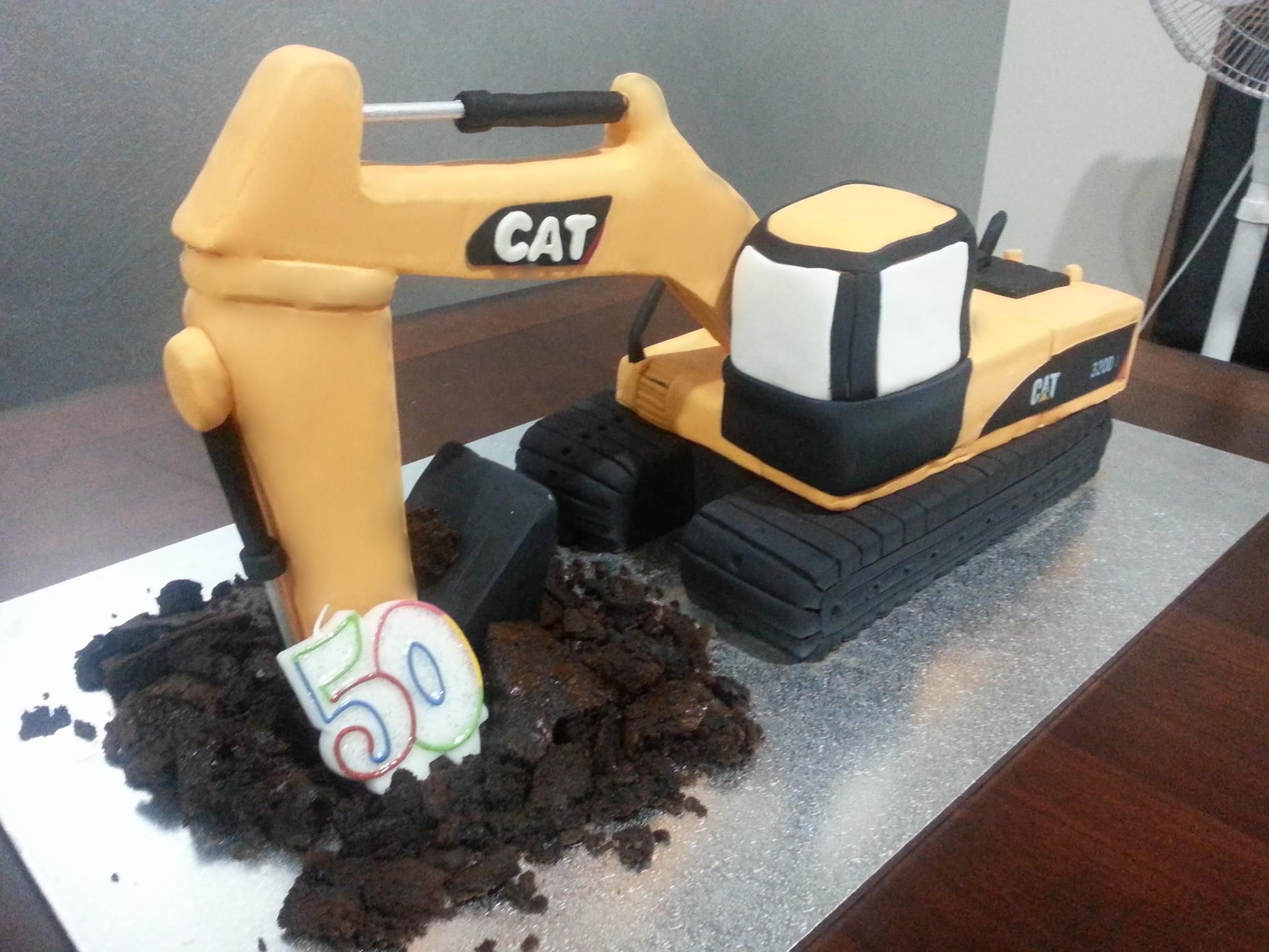 the 25 best excavator cake ideas on pinterest construction