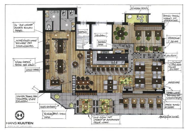 Hans Kuijten Projecten Restaurant Plan