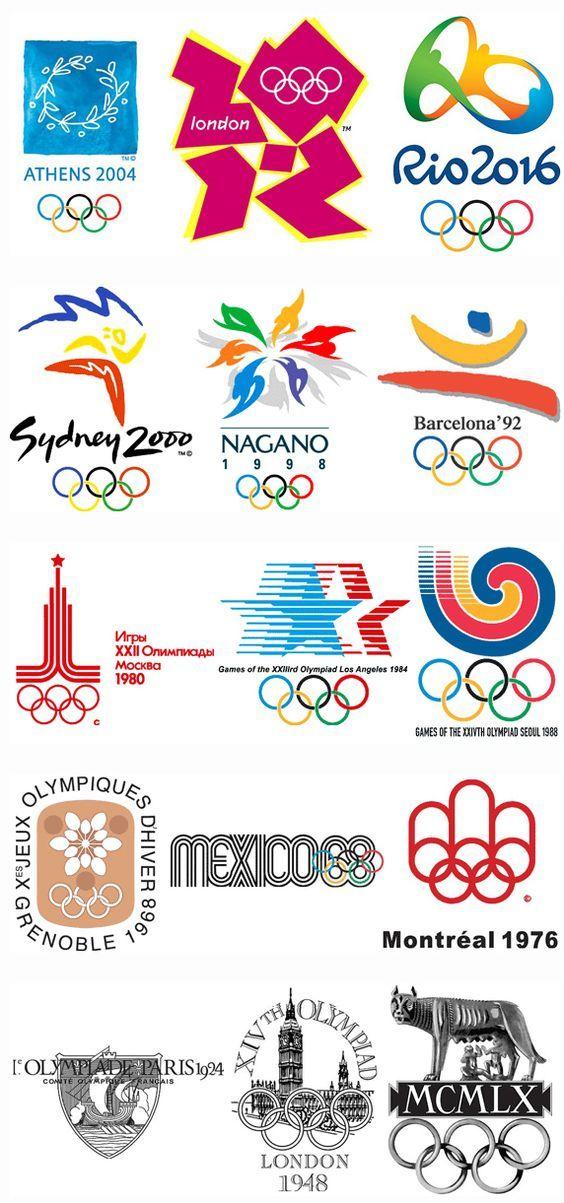 Esos Locos Bajitos De Infantil Logos De Las Olimpiadas Deportes