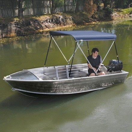 Aluminum Boats For Sale Bc >> Bimini Cover - 2 Bow Aluminium | Boat canopy, Aluminum ...