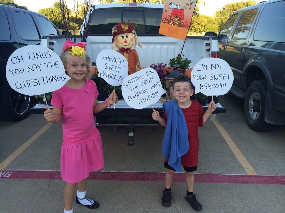 sally and linus costumes for a homemade halloween! | seasonal in
