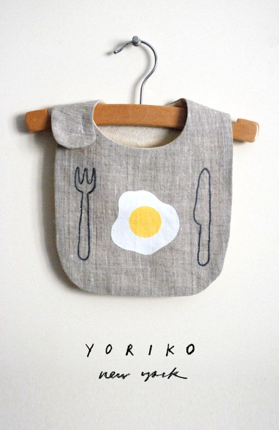 Start your morning off right! If you are looking for something simple and modern for your special baby, this is it. #dipsyeggs #bib https://www.etsy.com/listing/118458420/good-morning-bib?❤️ref=fp_treasury_6