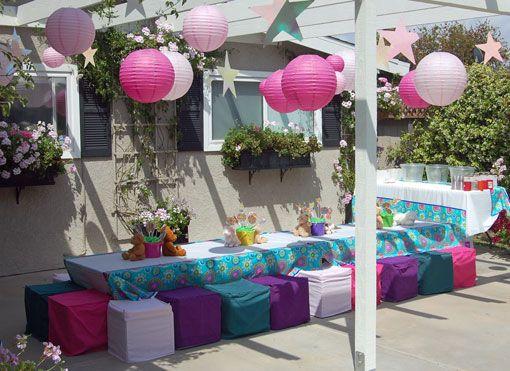 sleepover party idea | holiday/seasonal fun | pinterest ... - Patio Party Ideas