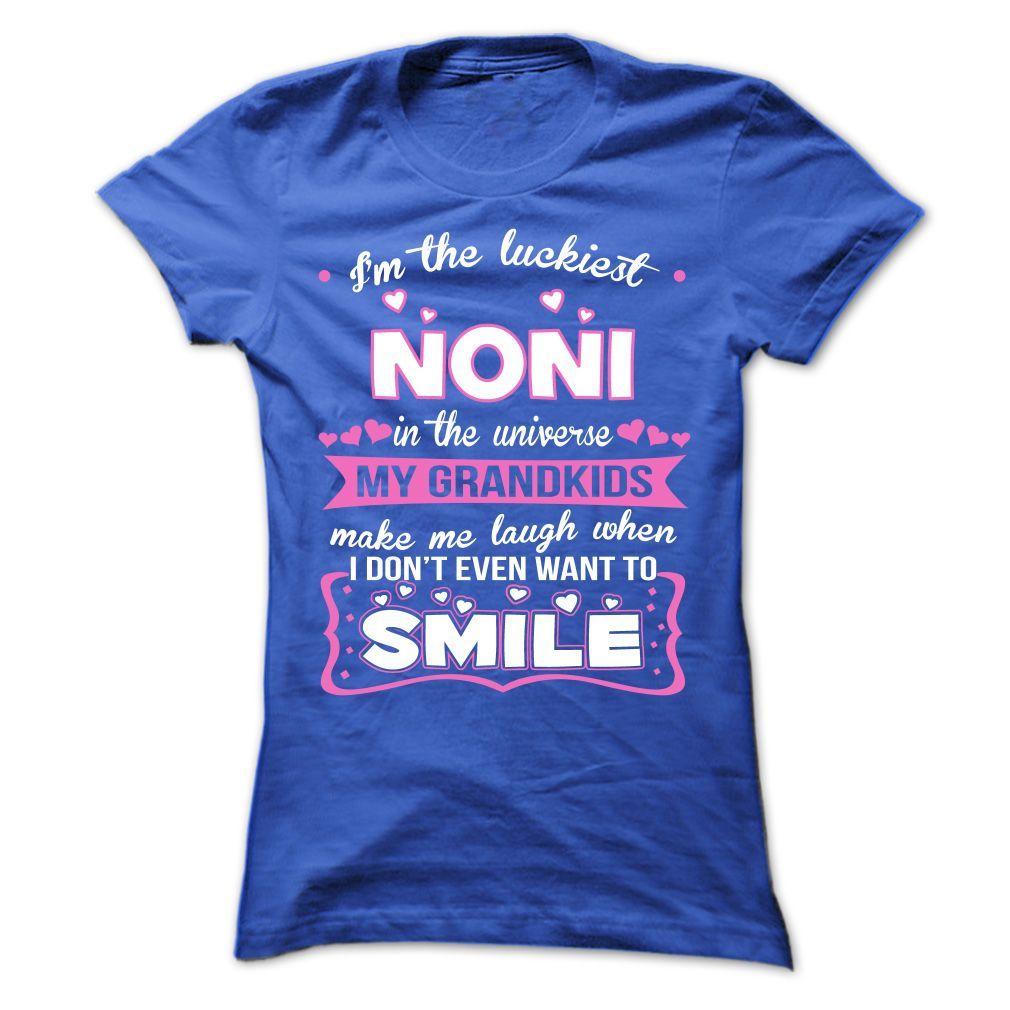 Im The Luckiest Noni Sweatshirts, Hoodie shirt, Indiana girl