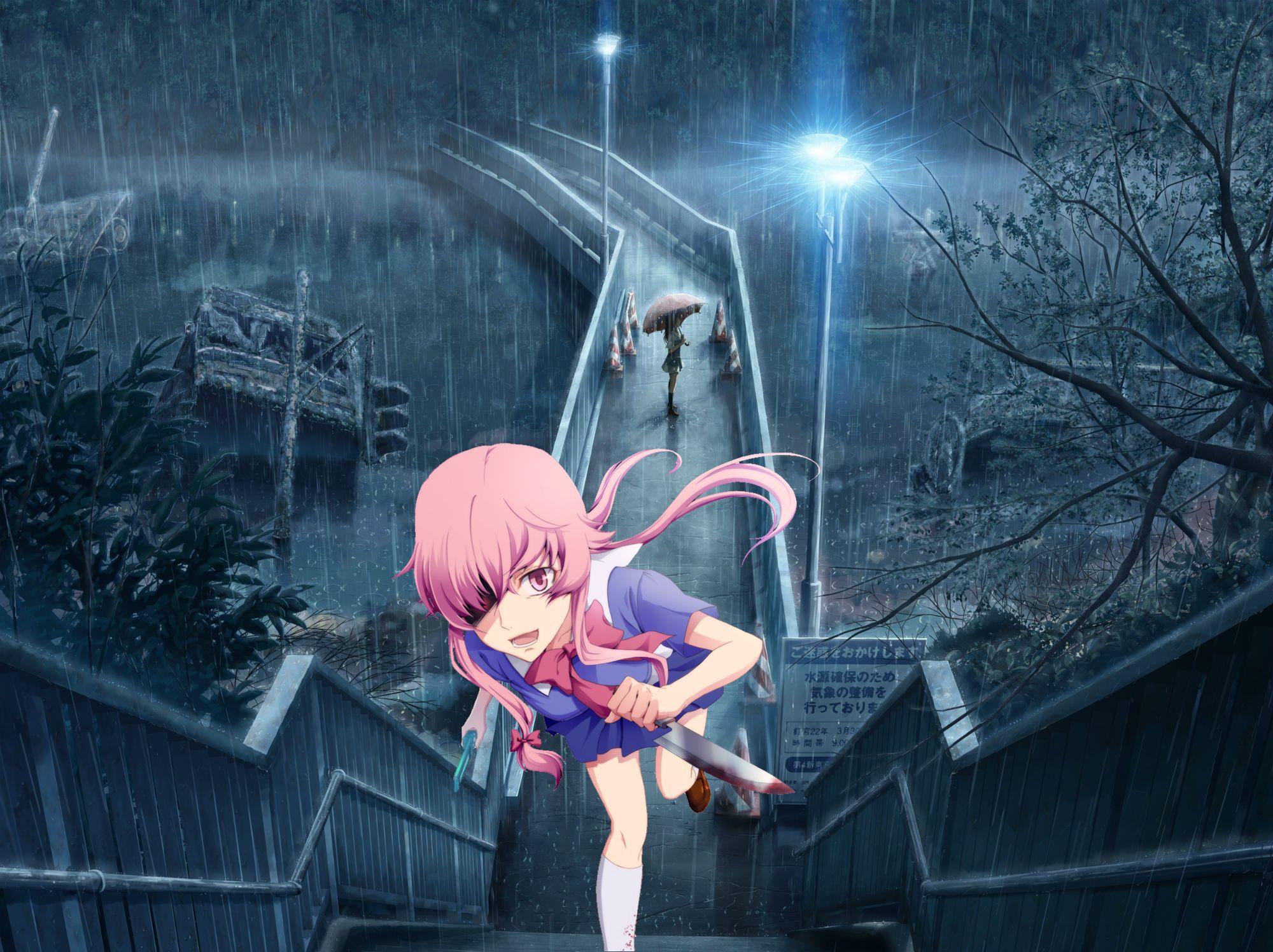 Gasai yuno iphone wallpaper tumblr - Mirai Nikki Future Diary Yuno Gasai 2nd Anime Fanart Wallpapers For Pciphone