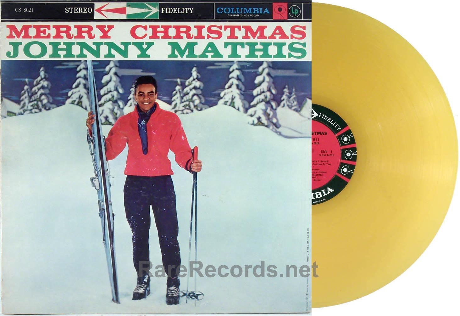 Johnny Mathis - Merry Christmas (Columbia; 1958) Ultra-rare, and ...