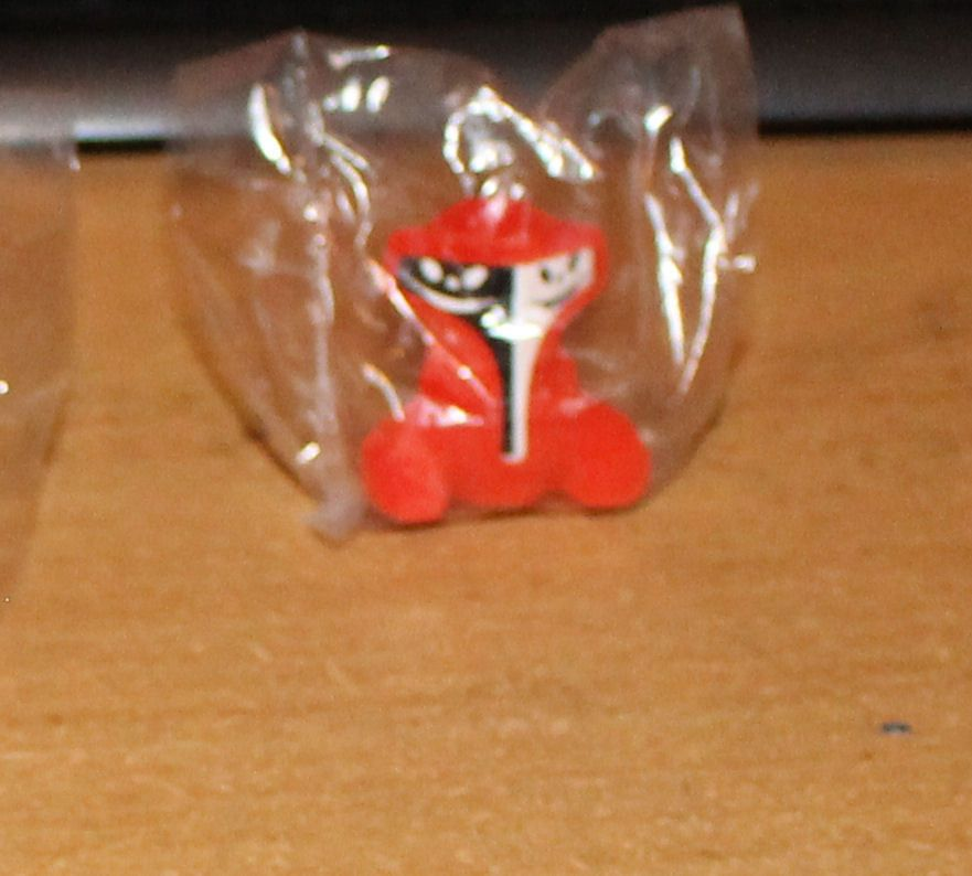 Crazy Bones Gogos SUPERSTAR SEALED DUOP Red S5 #MagicBox