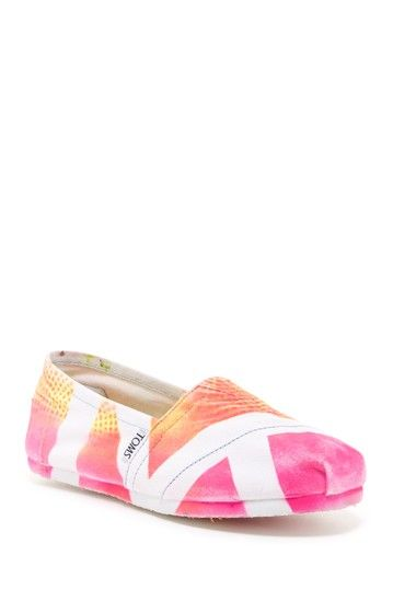 Stripe Circles Classic Slip-On Shoe by TOMS on @HauteLook