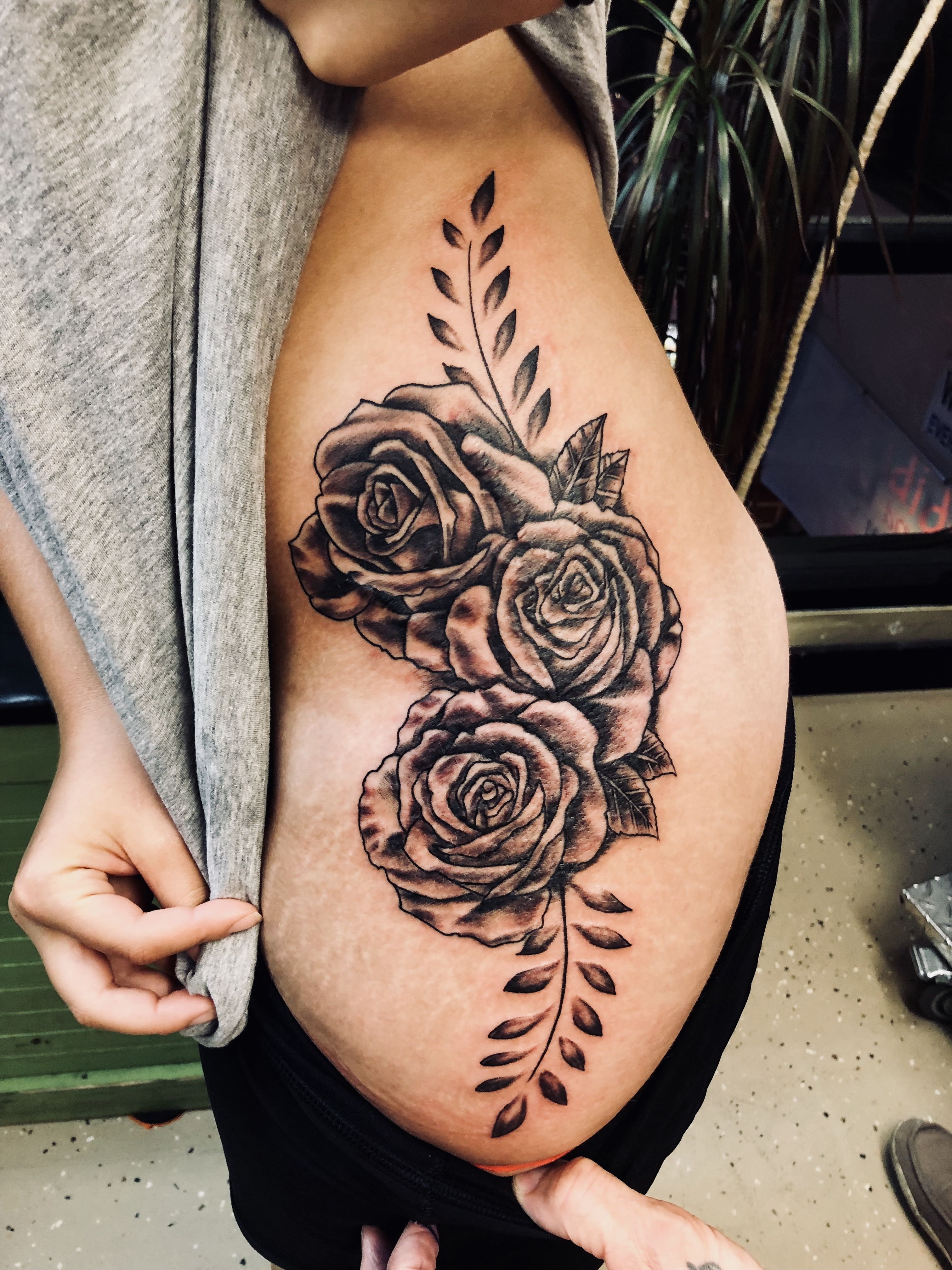 Rose Tattoo Tattoos For Women Thigh Tattoo Hip Tattoo Rose Thigh Tattoo Roses Tattoo Tattoos For Women Thigh Tattoo Thigh Tattoos Women