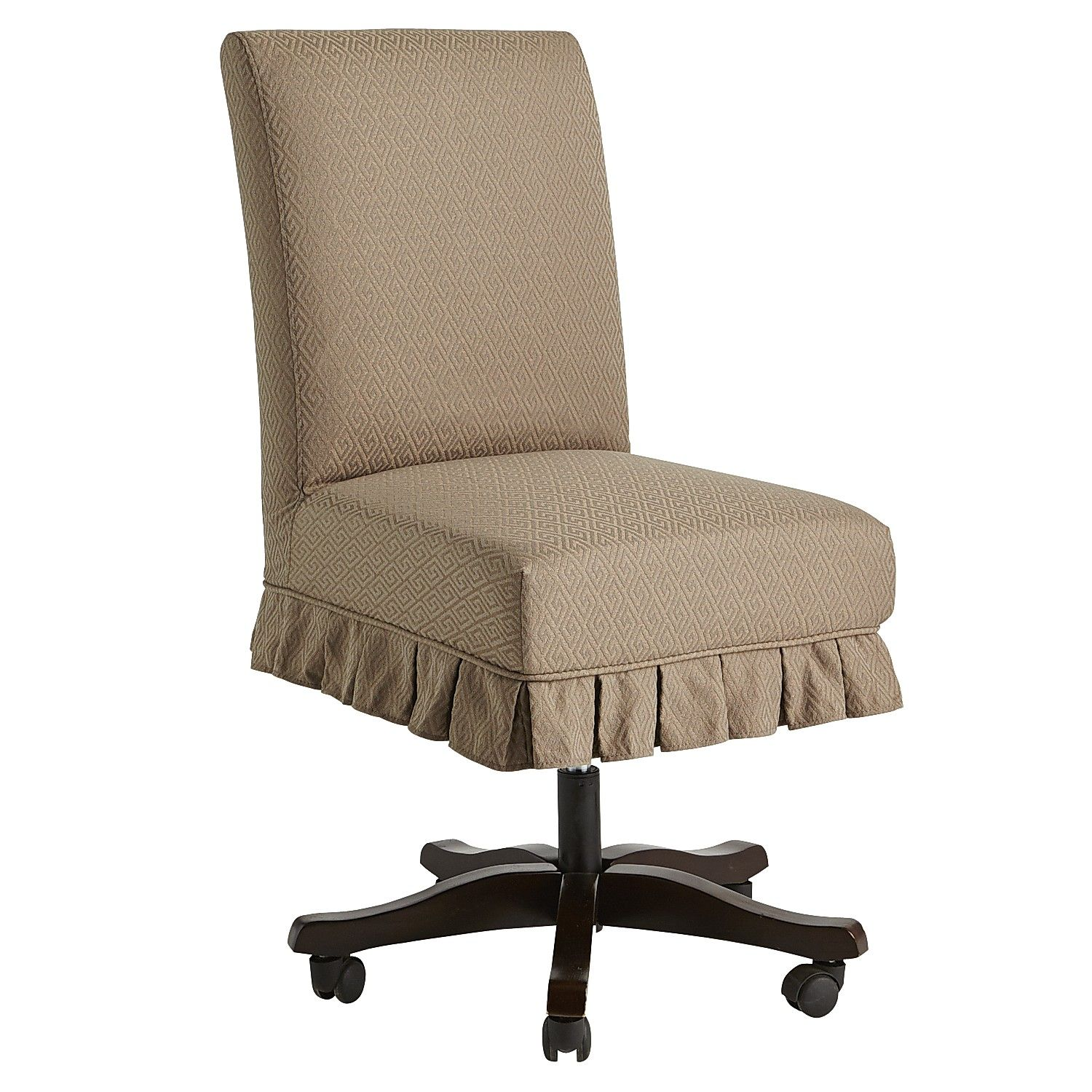 Dana Office Chair Slipcover Dove Slipcovers for chairs