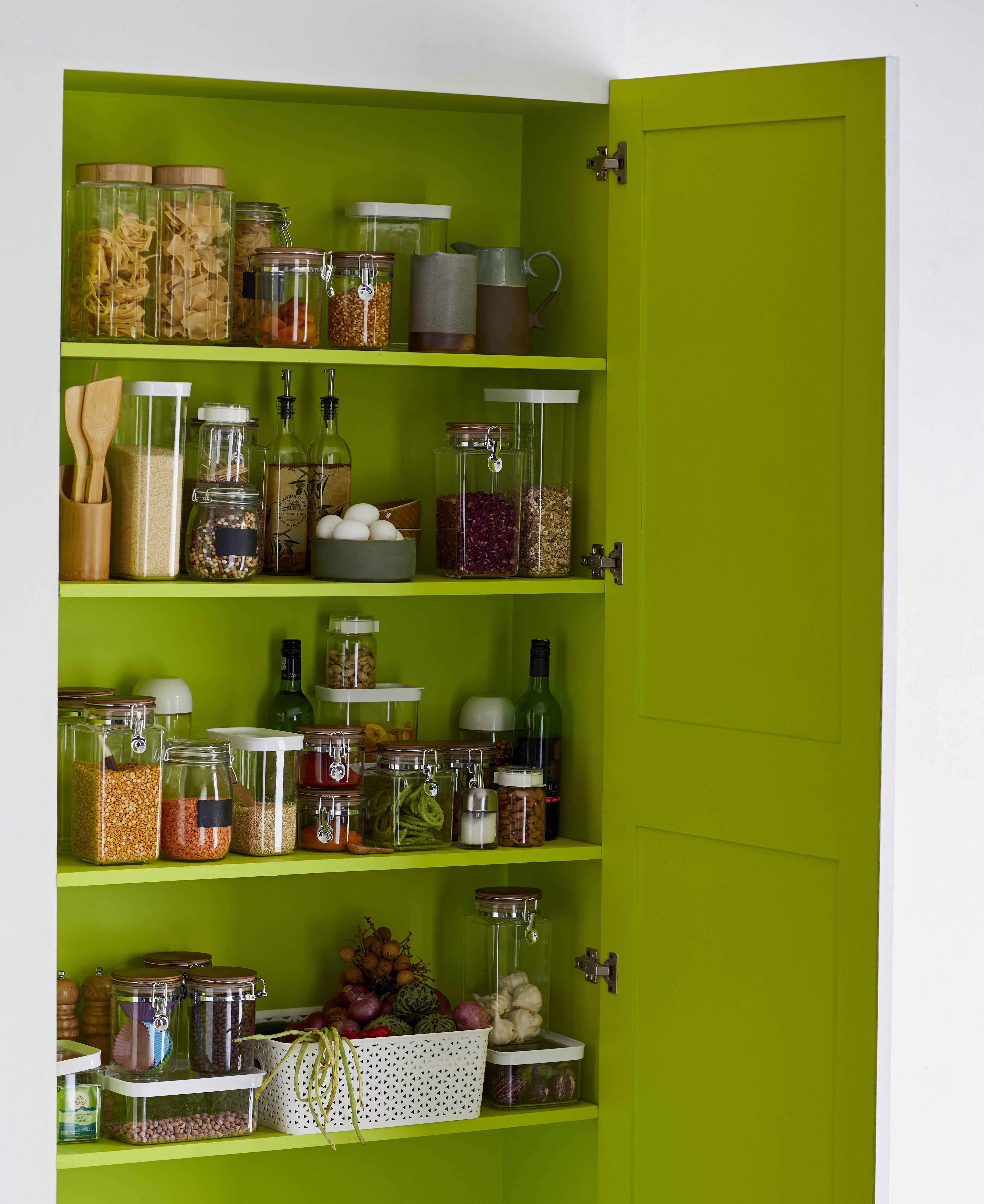 Lime Green Pantry Asian Paints Colours Asian Paints Home Decor