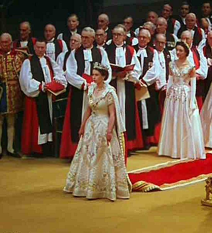 June 2, 1953 Coronation of Queen Elizabeth II in