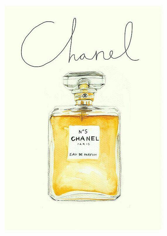 Image Par Helene Delbecq Sur Papier Carton Parfum Chanel