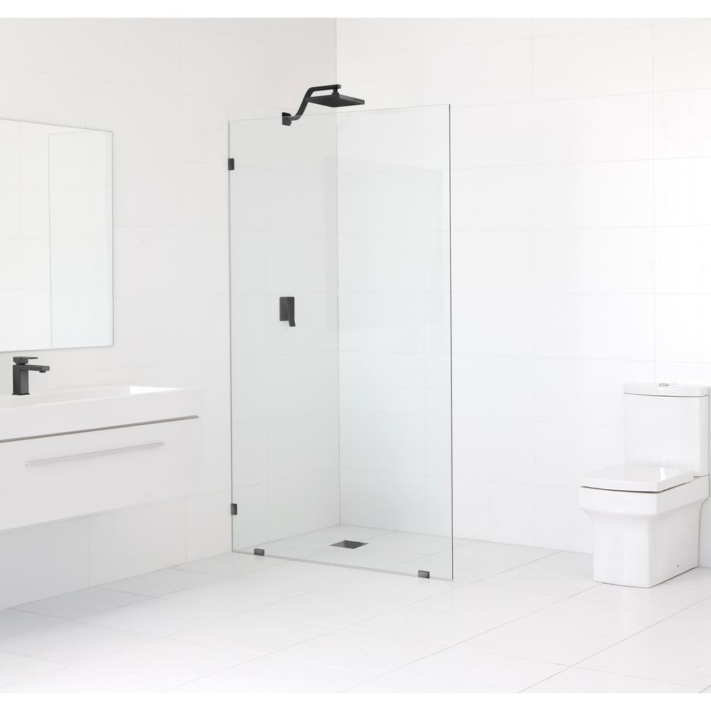 Glass Warehouse 42 In X 78 In Frameless Fixed Shower Door In